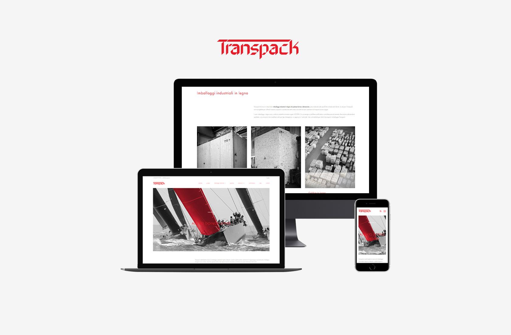 Nuovo sito transpack.it